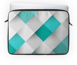 """Чехол для ноутбука 14'' """"Кубический"""" - узор, стиль, рисунок, абстракция, абстрактный"""