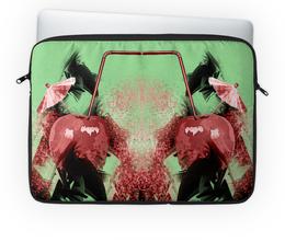 """Чехол для ноутбука 14'' """"Яблочный микс"""" - фрукты, напиток, абстракция, яблоко, натюрморт"""