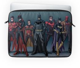 """Чехол для ноутбука 14'' """"Batman/Бэтмен"""" - comics, batman, batwoman, dc comics, robin"""