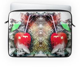 """Чехол для ноутбука 14'' """"Яблочный микс"""" - напиток, абстракция, яблоко, фрукт, натюрморт"""