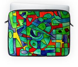 """Чехол для ноутбука 14'' """"3VVU-;JJ87"""" - арт, узор, абстракция, фигуры, текстура"""