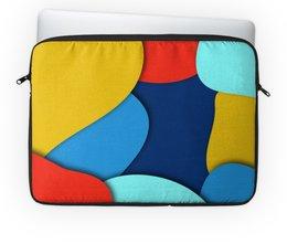 """Чехол для ноутбука 14"""" """"Разноцветный"""" - узор, стиль, рисунок, разноцветный, абстрактный"""