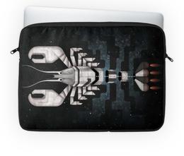 """Чехол для ноутбука 14'' """"Лобстер - ракета"""" - арт, графика, рак, лобстер, ракета"""