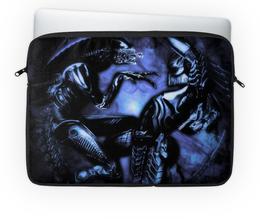 """Чехол для ноутбука 14'' """"Чужой"""" - alien, чужой, инопланетяне, ксеноморф"""