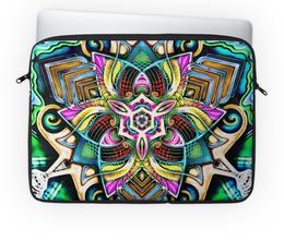 """Чехол для ноутбука 14"""" """"Mandala HD 4"""" - узор, ретро, классика, этно, симметрия"""