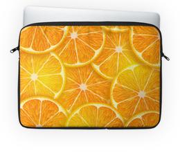 """Чехол для ноутбука 14'' """"Апельсины"""" - рождество, апельсины, merry christmas, новогодний подарок, 2017"""