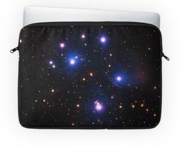"""Чехол для ноутбука 14'' """"Космос (space)"""" - space, звезды, космос, вселенная, галактика"""