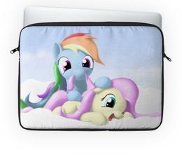 "Чехол для ноутбука 14'' ""My Little Pony"" - my little pony, пони, маленький пони"