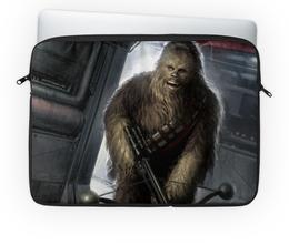 "Чехол для ноутбука 14"" ""Чубакка"" - чубакка, chewie, star wars"