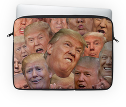 "Чехол для ноутбука 14'' ""TRUMP"" - usa, сша, президент, трамп, trump"