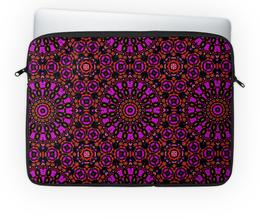 "Чехол для ноутбука 14'' ""purple"" - арт, узор, абстракция, фигуры, текстура"