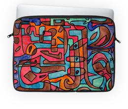 """Чехол для ноутбука 14'' """"KL-''''Y4V4"""" - арт, узор, абстракция, фигуры, текстура"""