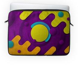 """Чехол для ноутбука 14"""" """"Абстрактный"""" - орнамент, узор, рисунок, стиль, абстрактный"""