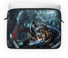 "Чехол для ноутбука 14'' ""World-of-Warcraft"" - арт, графика, world of warcraft"