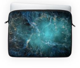 """Чехол для ноутбука 14'' """"Голубая туманность"""" - арт, космос, туманность"""