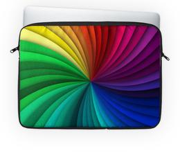 """Чехол для ноутбука 14'' """"Калейдоскоп"""" - узор, стиль, рисунок, абстрактный, калейдоскоп"""
