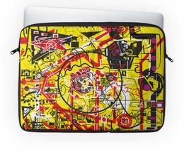 """Чехол для ноутбука 14'' """"Паутинка"""" - арт, узор, абстракция, фигуры, текстура"""
