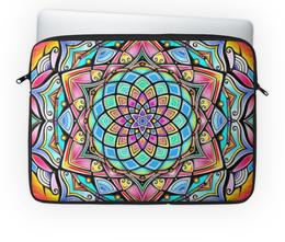"""Чехол для ноутбука 14"""" """"Mandala HD2"""" - узор, ретро, классика, этно, симметрия"""