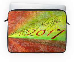 """Чехол для ноутбука 14'' """"Happy New Year """" - happy new year, новый год, new year, смвол 2017, new year 2017"""
