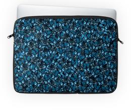 "Чехол для ноутбука 14'' ""Papilionidae"" - бабочки, природа, текстура, фон"