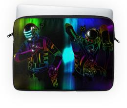 "Чехол для ноутбука 14'' ""Dead space / daft punk"" - арт, графика, daft punk, dead space"
