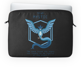 "Чехол для ноутбука 14'' ""Team Mystic"" - мультфильм, pokemon, покемон, мистик, mystic"