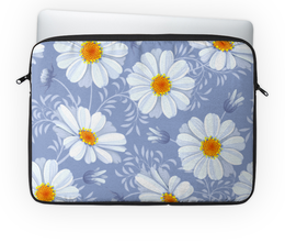 "Чехол для ноутбука 14"" ""Ромашки"" - цветы, ромашки, красиво, природа"