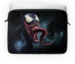 """Чехол для ноутбука 14'' """"Веном (Venom)"""" - веном"""