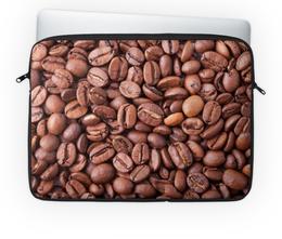 """Чехол для ноутбука 14'' """"Зерна кофе"""" - утро, напиток, кофе, крепкий, ароматный"""