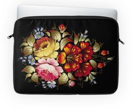 """Чехол для ноутбука 14'' """"Цветы"""" - цветы, рисунок, букет"""