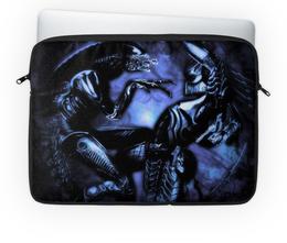 """Чехол для ноутбука 14'' """"Хищник"""" - хищник, инопланетяне, predator, яутжа"""