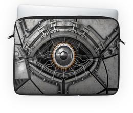 """Чехол для ноутбука 14'' """"Глаз механический"""" - арт, глаз, абстракция, механика, фэнтази"""