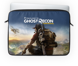 "Чехол для ноутбука 14'' ""Tom Clancys Ghost Recon Wildlands"" - tom clancys ghost recon wildlands, ghost recon, tom clancy, игры, для геймеров"