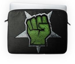 """Чехол для ноутбука 14"""" """"Свобода"""" - воин, революция, свобода, независимость, протест"""