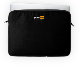"""Чехол для ноутбука 14'' """"PornHub"""" - logo, case, notebook, порно, pornhub"""