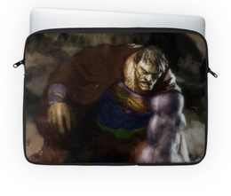 "Чехол для ноутбука 14'' ""Бизарро"" - комиксы, superman, супермэн, dc comics, bizarro"