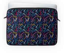 """Чехол для ноутбука 14'' """"Знаки"""" - подарок, знаки, символы, буквы"""