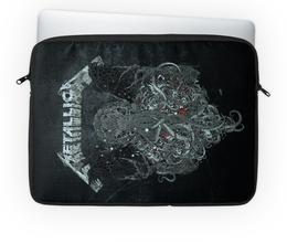 """Чехол для ноутбука 14'' """"Metallica"""" - рок, metallica, группы, метал, металлика"""