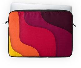 """Чехол для ноутбука 14"""" """"Волнистая"""" - стиль, рисунок, узор, абстрактный, волнистый"""