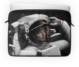 """Чехол для ноутбука 14"""" """"SpaceX"""" - вселенная, космос, наука, the spaceway, space"""