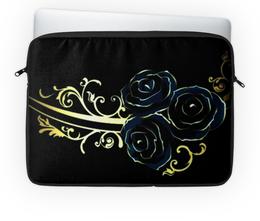 """Чехол для ноутбука 14'' """"Три розы"""" - цветы, подарок, розы"""