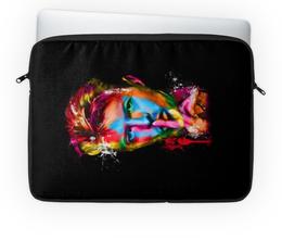 """Чехол для ноутбука 14"""" """"Дэвид Боуи"""" - музыка, дэвид боуи, david bowie, боуи, bowie"""