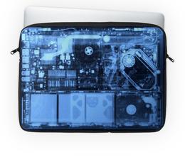 """Чехол для ноутбука 14'' """"Просвеченый ноут"""" - рентген, ноут, просвет, сканер, осмотр"""