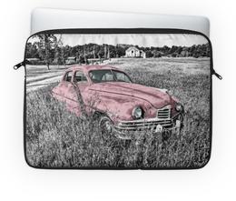 "Чехол для ноутбука 14'' ""Раритет 1"" - автомобиль, машина, раритет, ретро, пейзаж"
