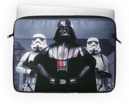 """Чехол для ноутбука 14'' """"Звездные Войны (Star Wars)"""" - darth vader, дарт вейдер, штурмовик, stormtroopers"""