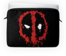 "Чехол для ноутбука 14'' ""Дэдпул (Deadpool)"" - marvel, deadpool, марвел, дэдпул"
