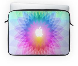 "Чехол для ноутбука 14'' ""Apple"" - apple, яркий, macbook"