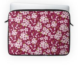 "Чехол для ноутбука 14'' ""Цветущая вишня"" - красиво, природа, цветочки, цветущая вишня, красивые цветы"
