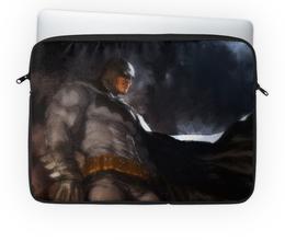 "Чехол для ноутбука 14'' ""Бэтмен"" - комиксы, batman, бэтмен, dc, dc comics"