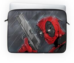 "Чехол для ноутбука 14'' ""Дэдпул (Deadpool)"" - дэдпул"
